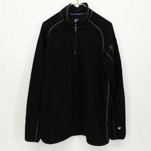 Kuhl Black Pull Over Sweatshirt